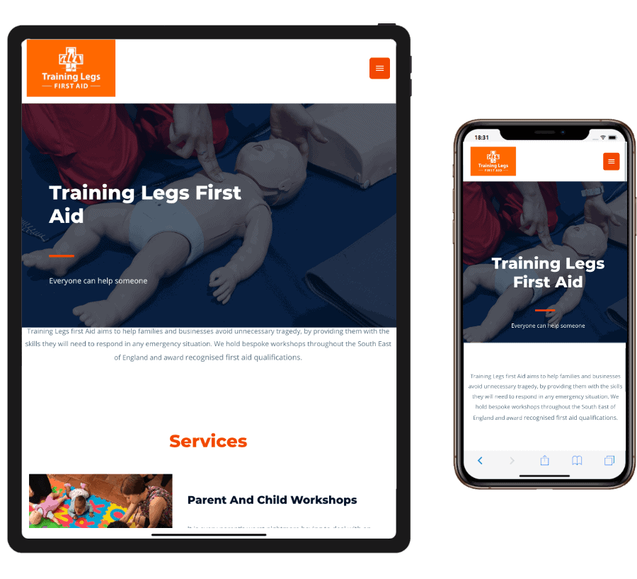 Training Legs iPad +_ iPhone