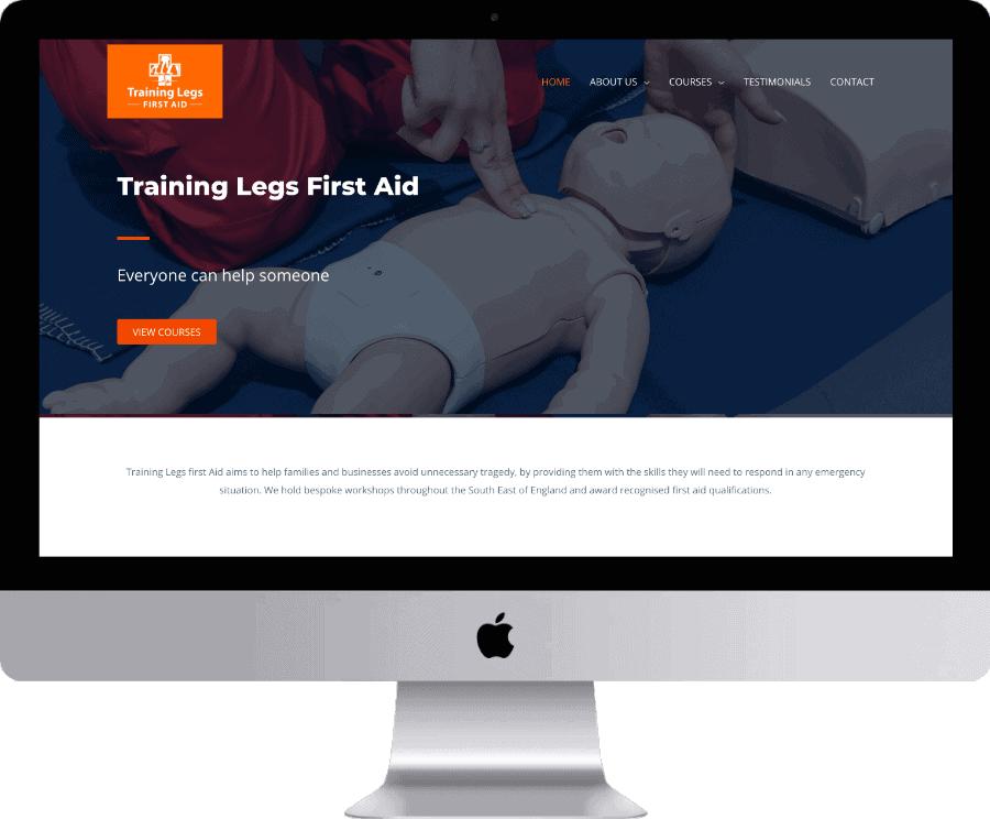 Training legs Desktop