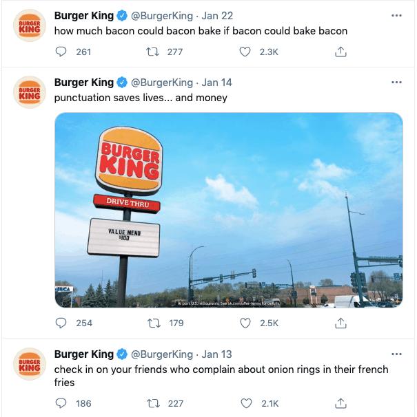 Burger King social interaction