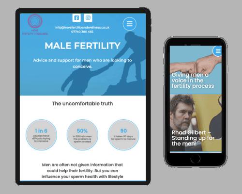 Male Fertility page